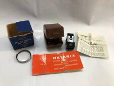 Agfa Natarix Universal Viewfinder + Agfa 35.5mm Lens + Boxes/Case + Instructions