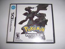 Original Nintendo DS Replacement Box Case for Pokemon White Version *NO GAME*