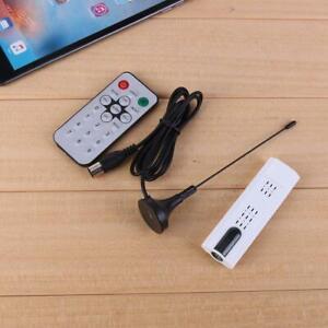 Digital DVB T2 USB TV Stick Tuner USB 2.0 HDTV-Receiver + Antenne + Fernbed
