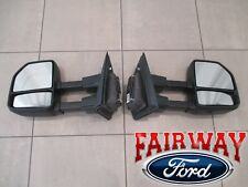 2018 F-150 OEM Genuine Ford ALL Manual Telescopic Trailer Tow Mirrors PAIR - NEW