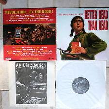 Better Read Than Dead (A Benefit For AK Press)   2-LP Set  + AK 1996 catalog