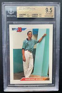 1992 Bowman Mariano Rivera rookie, graded BGS 9.5! New York Yankees Legend!
