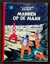 Kuifje - Mannen op de maan 1955 - hardcover