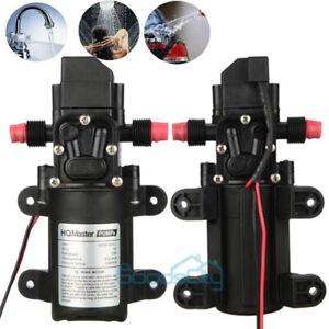 130PSI Water Pump w/ Pressure switch | Marine and RV 12V Water Pump | 70W