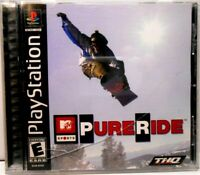 PURE RIDE 2, PS1 COMPLETE - Tested works !