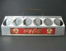 Vintage Aluminum COCA COLA Coke 12 Pack Bottle Carrier Tray Caddy 1950s 1960s