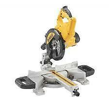 DEWALT DWS773 216MM SLIDING CROSS CUT MITRE SAW 240V