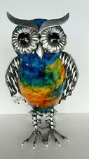 Juliana collection - coloured metal owl