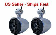 "KICKER 6.5"" WAKEBOARD TOWER 300 WATT SPEAKERS-Marine,UTV,RZR,Cart,Polaris,Jeep"