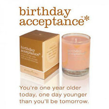 Soy Candle Birthday Acceptance by Aromatherapy Interventions