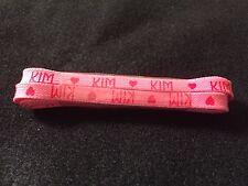 "Vintage 36"" Girls Children's Kids Name Shoelaces - KIM - New Old Stock 1980's"
