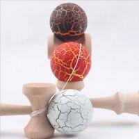 Bola Kendama de pintura de grietas Bola de juego de malabarismo experto Bol O6E3