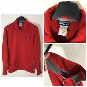 MENS Patagonia 1/4 Zip Better Sweater Fleece Pullover Size M