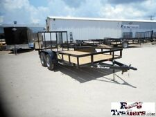 77 x 14 14ft Farm Tractor UTV ATV Mower Lawn Service Utility Cargo Trailer DFW