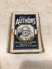 Vintage Game Of Authors Compmete Set