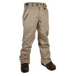 Technine Chino Shell Snowboard Pants Men's XXL Khaki 2XL New