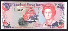 Isole Cayman. dieci dollari. C/1 036884. 1998, quasi FIOR.