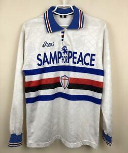 FC SAMPDORIA 1995/1996 AWAY FOOTBALL JERSEY SOCCER CALCIO MAGLIA SHIRT VINTAGE