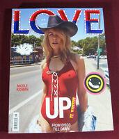 Love #18, Autumn/Winter 2017, Nicole Kidman, Fashion Magazine, 488 Pages, NEW