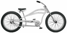 "NEW BICYCLE STRETCH BEACH CRUISER 26"" x4.0 FAT TIRES WHITE!"