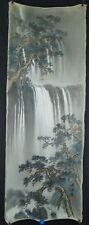 Wasserfall Japanisches Rollbild Kakejiku Kakemono Makuri Honshi 4633