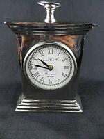 Vintage Imperial Clock Works Birmingham 1792 Mantle Shelf Desk Battery Clock