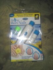 Ped Egg Bare Nails Electronic Nail Care System - As Seen On TV - Pedicure - NEW