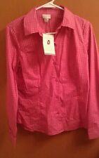 NWT Jaclyn Smith Shirt Small