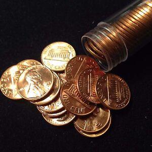 1971-D 1C Lincoln Cent Full Roll BU!!