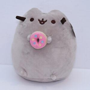 "GUND Pusheen Snackables Pink Donut Plush Stuffed Animal 10.5"" New"