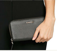 MANGO TOUCH MNG SIP SAFFIANO - EFFECT WALLET FAUX LEATHER PURSE BLACK