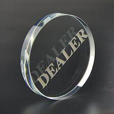 SmartDealsPro Transparent Dealer Poker Buttons
