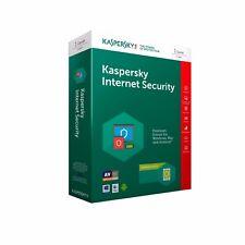 Kaspersky Internet Security 2018/2019 1 PC / 1 Jahr !NEU! !Deutsch! mit Rechnung