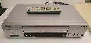 LG LV4685 VCR VHS reproductor vídeo 6 cabezales