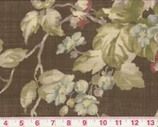 Overstock -Vintage Pattern Floral Upholstery Fabric Braemore Spring Bloom Bronze
