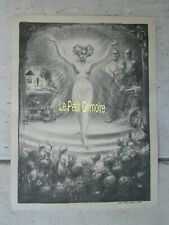 Programme musical de 1903 illustré par STEINLEN (32 X 24 cm)