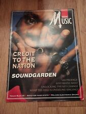 MAKING MUSIC MAGAZINE ISSUE 98 MAY 1994 ~ SOUNDGARDEN  & MORE
