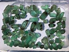 434 ct muzo columbian emerald rough lot