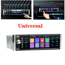 """Single 1DIN 4.1"""" Touch Car Stereo Radio Bluetooth MP5 Player remote control AUX"""