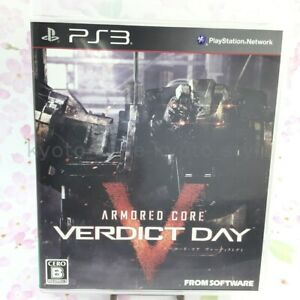 USED PS3 PlayStation 3 Armored Core Verdict Day 42067 JAPAN IMPORT