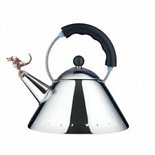 Alessi Tea Rex Hob Kettle - Black