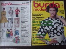 BURDA MODE 85/04 BRAUTMODE Wäsche Kaufen Hochzeit Tag Miss B Modezeitschrift