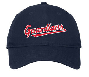 Cleveland Guardians Dad's Hat Cap Embroidered Gift