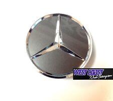 Mercedes Benz Grey & Chrome Pop In Wheel RIM Replacement Cover Cap