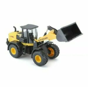 New Holland Front Loader W170D Diecast Metal Bburago.1:50 Scale  Farm Model Toy