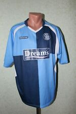 Wycombe Wanderers Football Shirt Jersey Camiseta Soccer 2007 2009 Home Size L