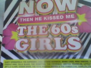 NOW That's What I Call Music! - 60s Girls…Kissed Me! [4 CD] new sealed free post
