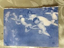 A1s ephemera edwardian book plate peter pan mabel lucie attwell flying