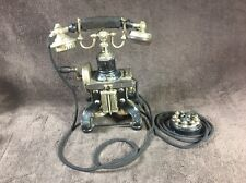 "VERY RARE ANTIQUE ERICSSON SKELETON ""EIFFEL TOWER"" TABLE TELEPHONE CIRCA 1900"