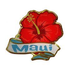 Pin Hibiscus Maui Kc Hawaii Lapel Hat